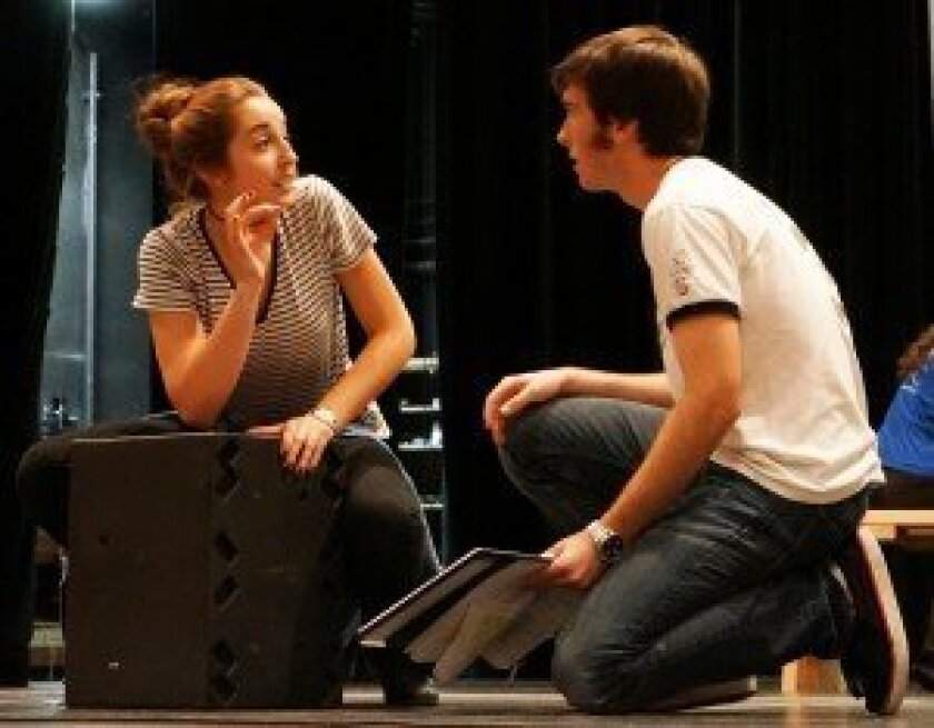 Brooke Patterson with Phillip Magin in 'Museum.'