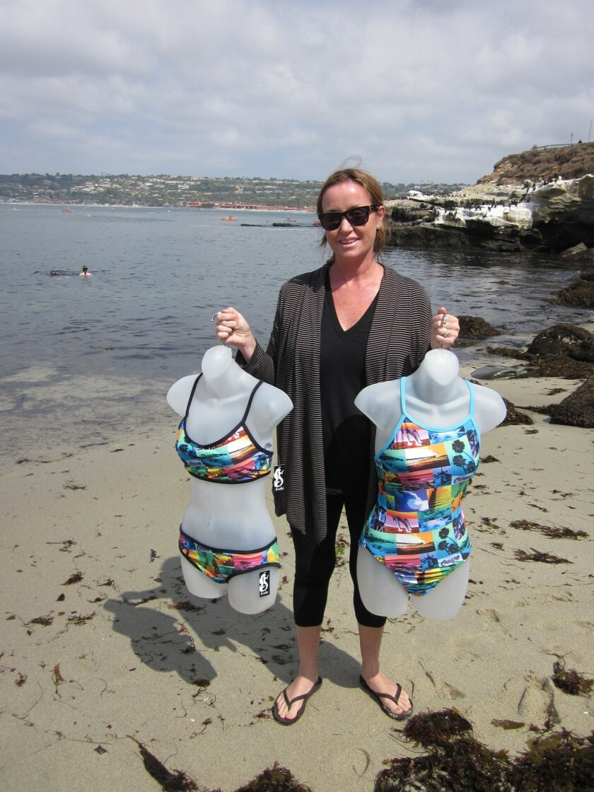 Swimwear designer Jennifer Carrillo. Photos by Jenna Jay