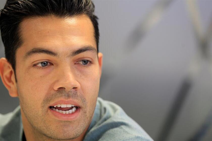 """El delantero venezolano Nicolás Fedor """"Miku"""", durante una entrevista con la Agencia Efe, hoy en Madrid. EFE"""