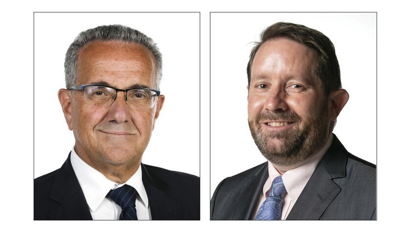 Joe LaCava and Will Moore are vying for the San Diego City Council District 1 seat.