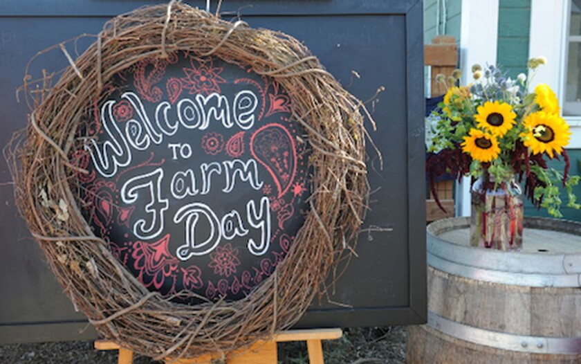 More than 20 farms open their doors to visitors on Farm Day.