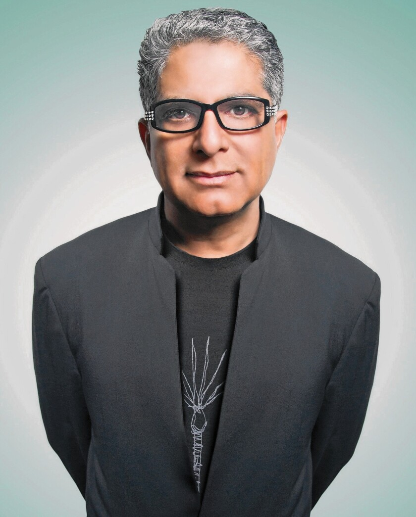 Deepak Chopra on fitness and spirituality