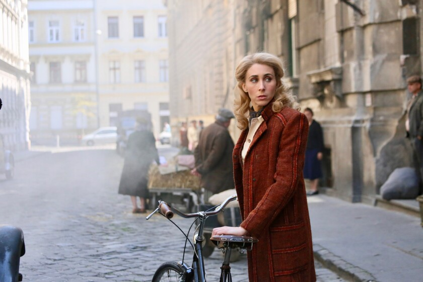 """Sarah Megan Thomas wrote, produced and stars in the fact-based """"A Call to Spy."""""""