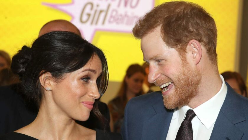 Britain's Prince Harry and fiancee Meghan Markle will tie the knot May 19 in St. George's Chapel at Windsor Castle.