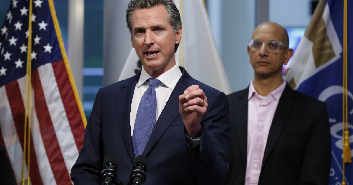 Newsom deploys California National Guard to assist food banks