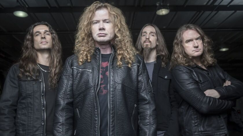 Grind The Waves With 80s Metal Band Megadeth On L A To Mexico Cruise Los Angeles Times