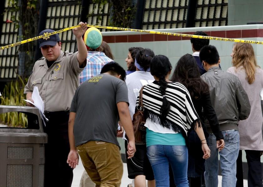 Santa Monica gunman had past mental issues, police sources say