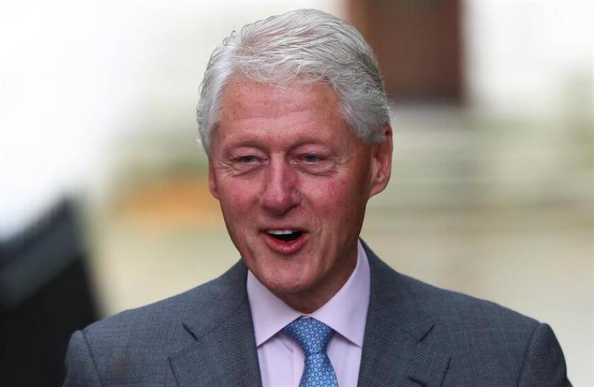 El expresidente de los Estados Unidos Bill Clinton. EFE/Archivo