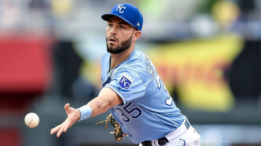 Eric Hosmer is considered the top first baseman available in free agency.