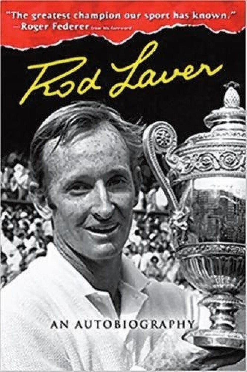 Rod Laver will discuss and sign copies of his autobiography Oct. 5.