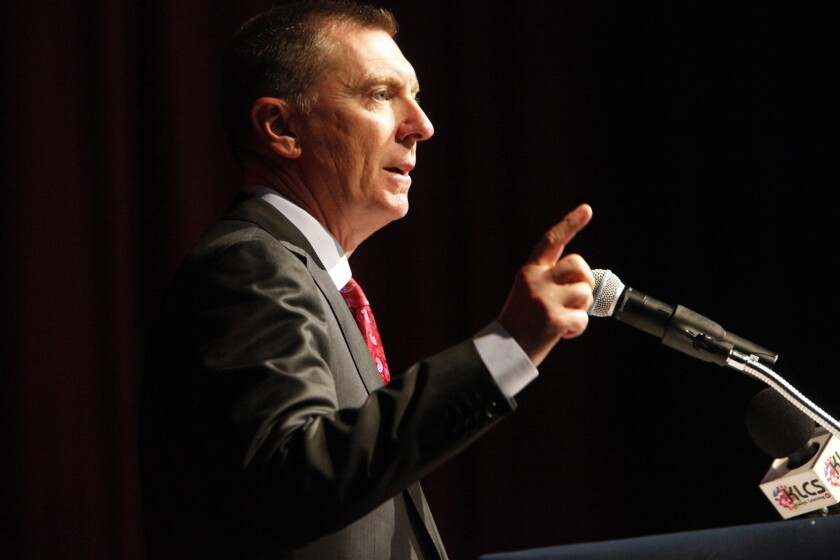 L.A. schools Supt. John Deasy faces an upcoming evaluation from the Board of Education.