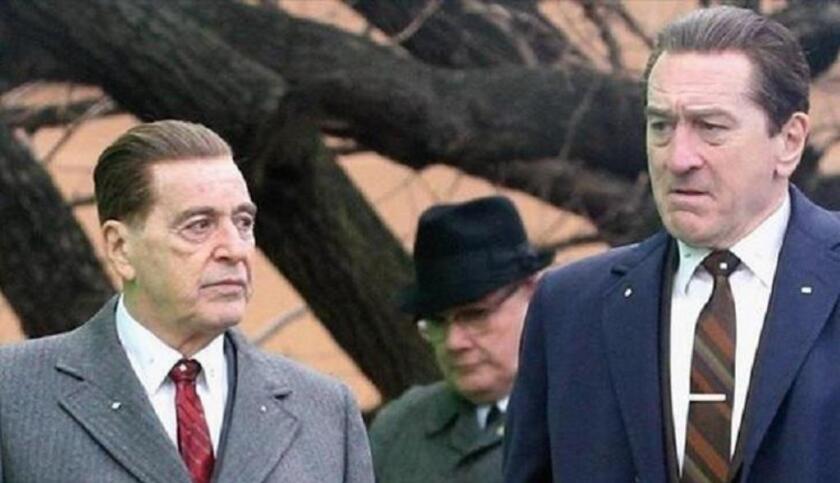 "Al Pacino and Robert De Niro in ""The Irishman."""