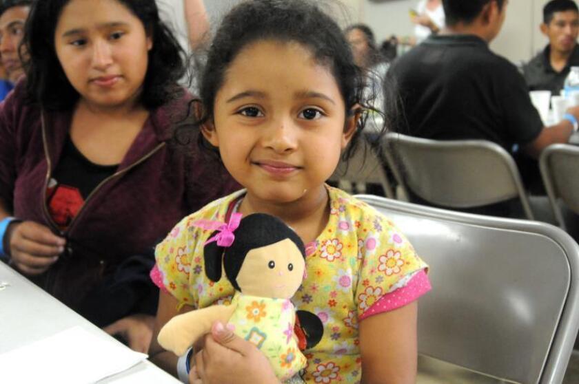 Niños migrantes conservan sueños y esperanzas pese a la dura travesía a EEUU