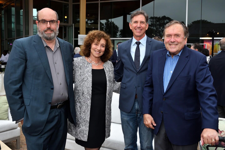 Christopher Ashley, Debby Buchholz, Tim Scott and David Hale