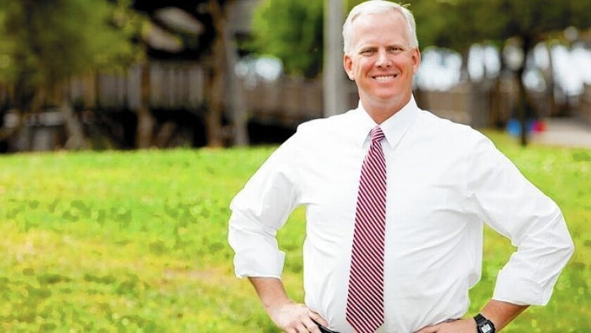 John Morris, a head deputy to the Los Angeles County district attorney, is hoping to win the county assessor job in the Nov. 4 election.