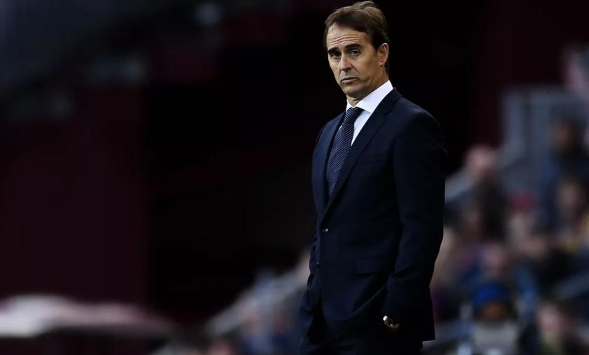 Julen Lopetegui, entrenador español.