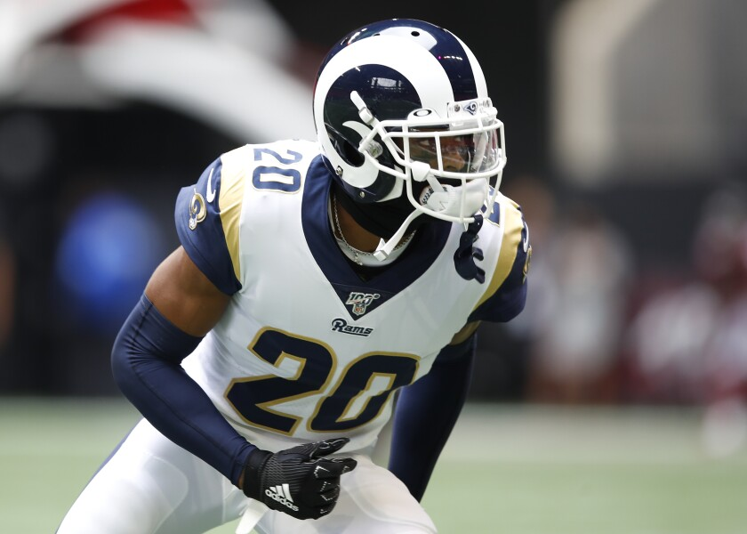 Jalen Ramsey has performed as a shutdown corner since he joined the Rams.