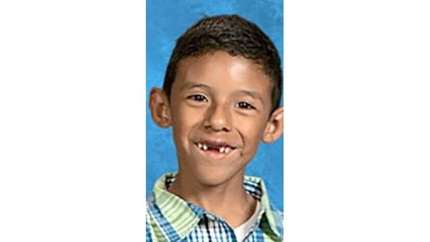 North Park Elementary School student Jonathan Martinez, 8, was killed along with his teacher by a gunman at the San Bernardino school Monday.