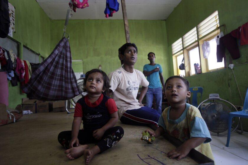 Rohingya Migrant in Indonesia