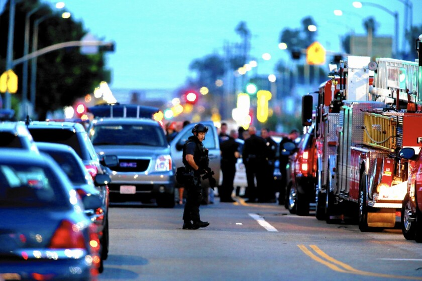 LAPD in South L.A.