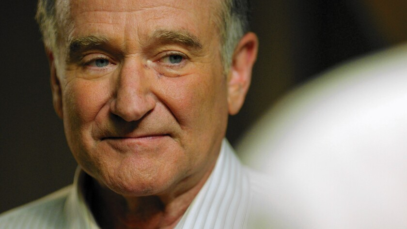 """Robin Williams plays a closeted gay man who comes out in his 60s in """"Boulevard."""""""