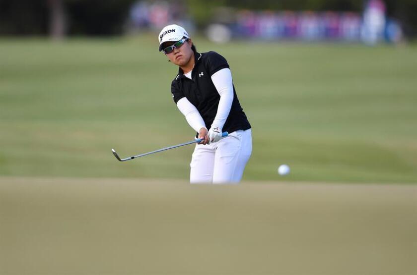 La golfista japonesa Nasa Hataoka. EFE/Archivo