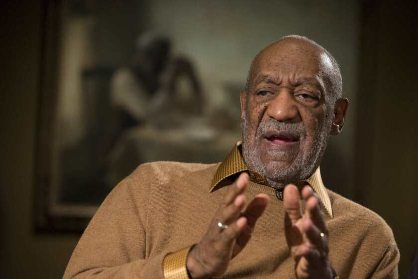 """A sex scandal has engulfed comedian Bill Cosby, shown earlier this month in Washington, D.C. His """"Cosby Show"""" character, Dr. Cliff Huxtable, was """"America's dad."""""""