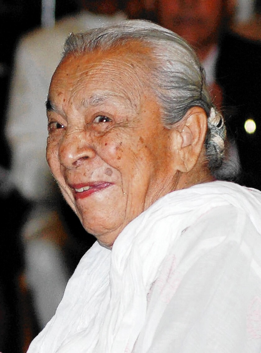 Beloved Bollywood actress and dancer Zohra Sehgal has died in New Delhi at 102.