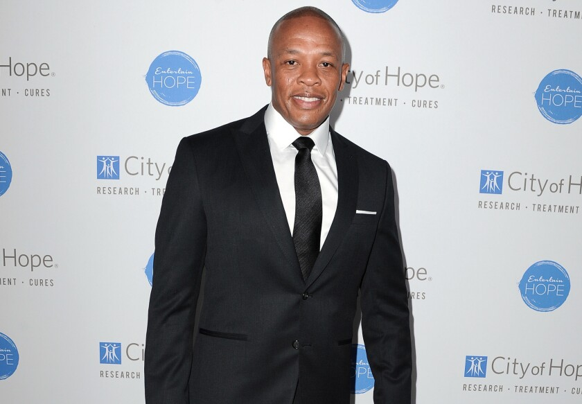 Dr. Dre named Forbes' highest paid musician of 2014.