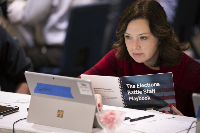 Election security exercise