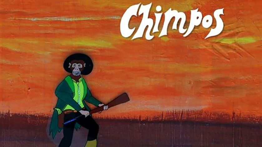 'Flung Like a Horse,' the first album by Chimpos, has been in the works for more than 30 years by Oc