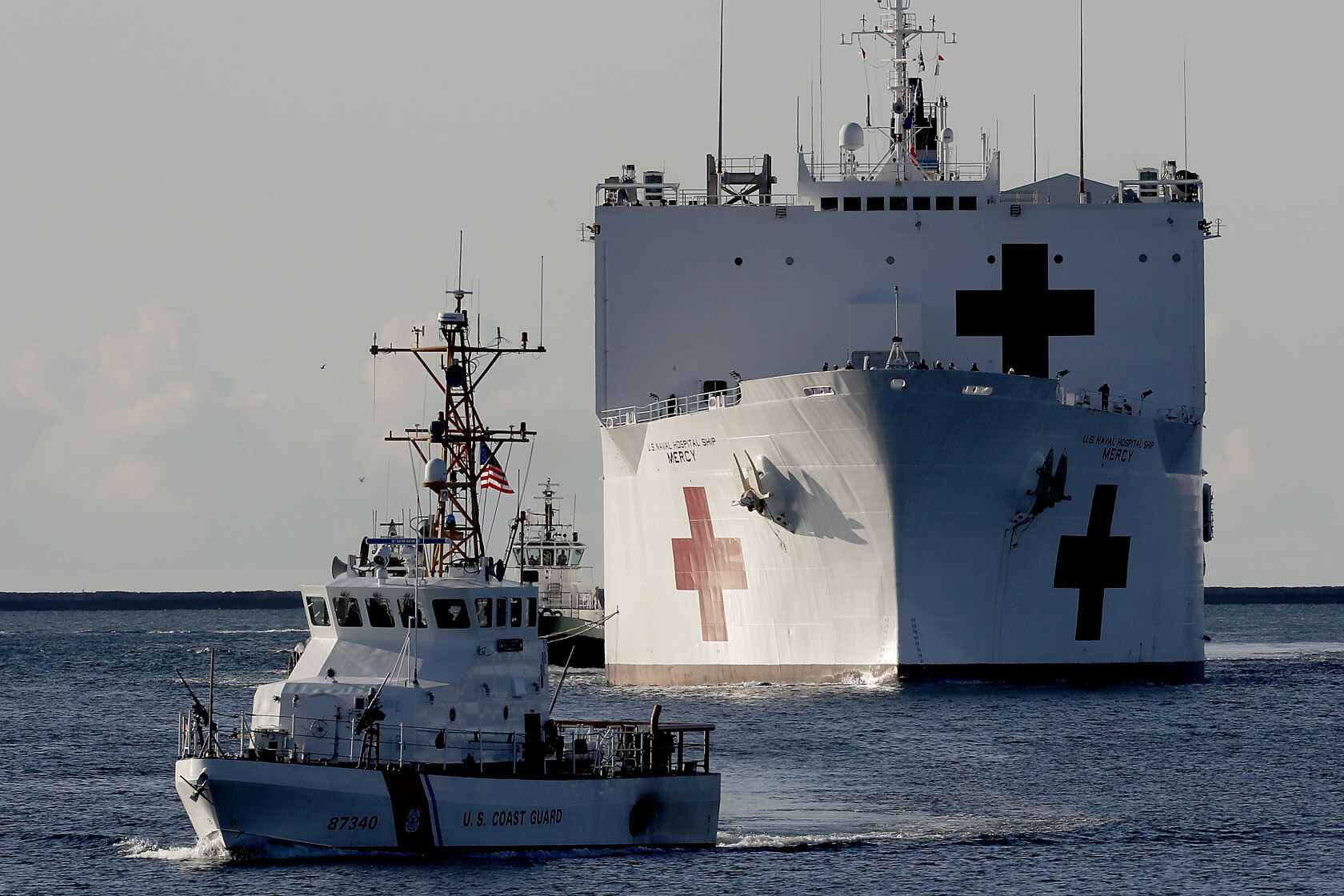 How the US Navy's largest Hospital Ship can help with the Coronavirus