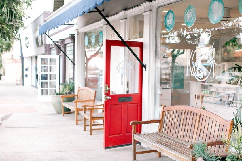 The Koi Wellbeing naturopathic wellness center is at 5632 La Jolla Blvd.
