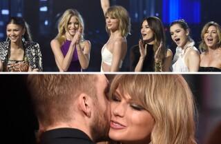 Taylor Swift kisses Calvin Harris, dominates with 'Bad Blood' at Billboard Music Awards 2015