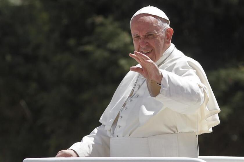 El papa Francisco recorrió de sur a norte el territorio de México.
