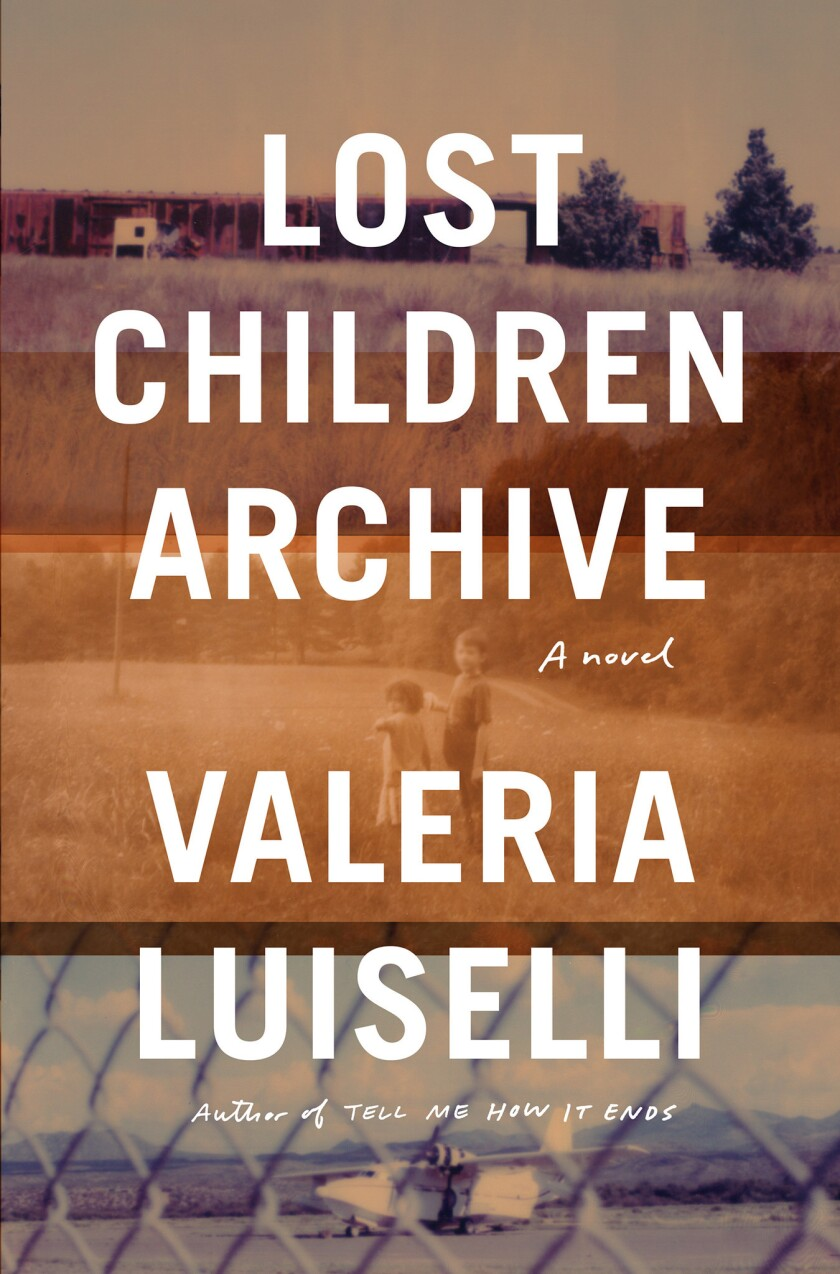 """A book cover of Valeria Luiselli's """"Lost Children Archive."""" Credit: Knopf"""