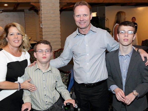 Lisa, Riley, Jim, and James Pathman