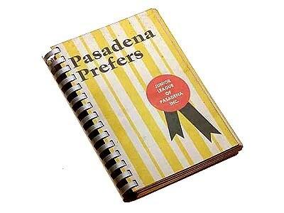 1964 Junior League Cookbook