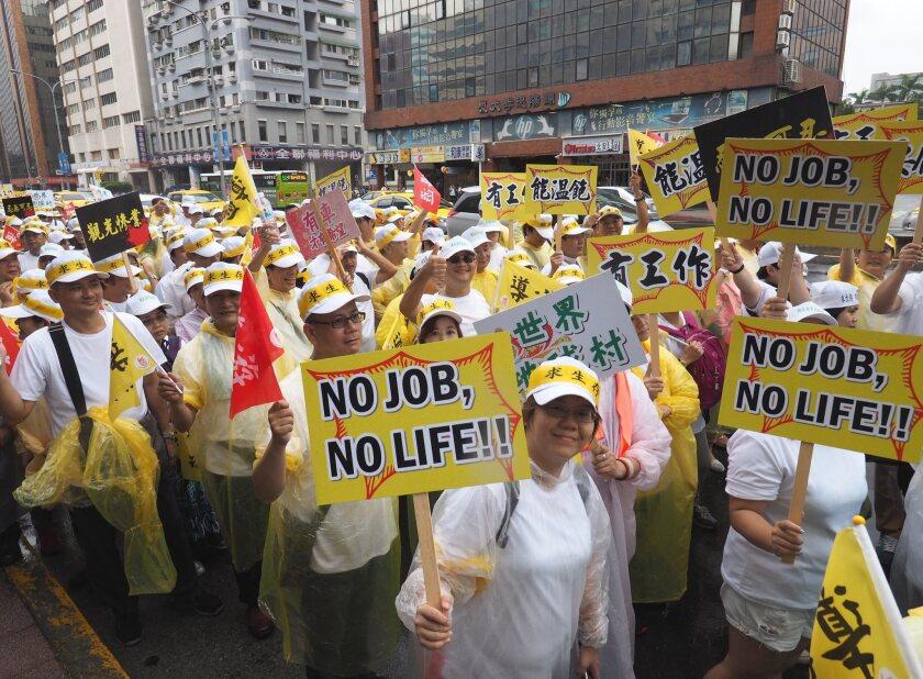 Tourism protest