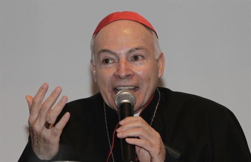 El cardenal Carlos Aguiar. EFE/Archivo