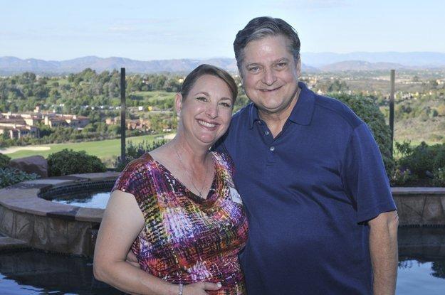 Hosts Nancy and Drake Coker