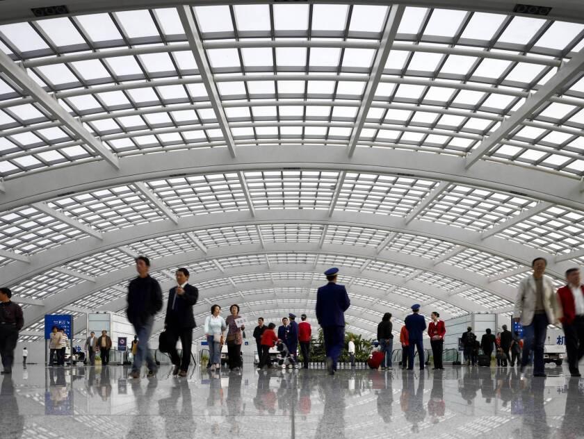 China air travelers