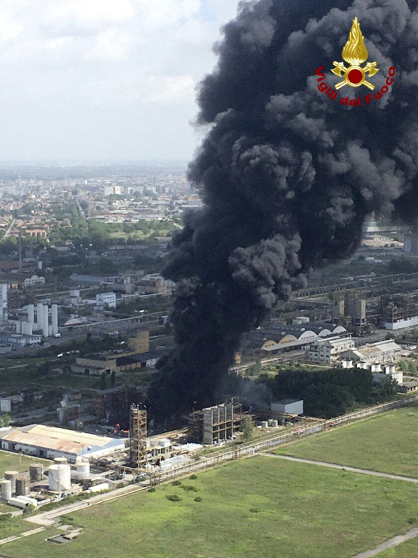 Italy Chemical Fire