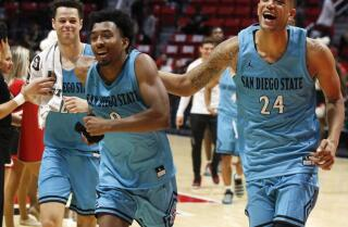 SDSU rebounds from 30-point loss with 43-point victory