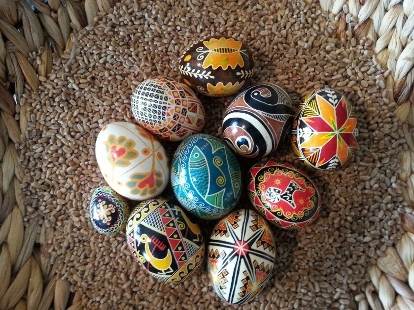 Pysanka, an Easter egg decorated with traditional folk designs, will be showcased at the 6th annual Pysanka Celebration hosted by the House of Ukraine in Balboa Park.