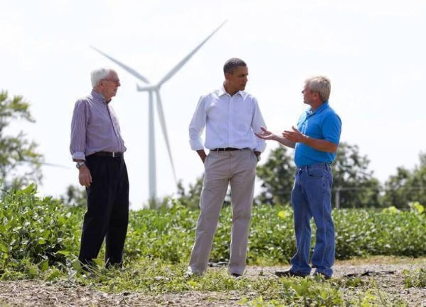 Obama, Romney talk energy in battleground states