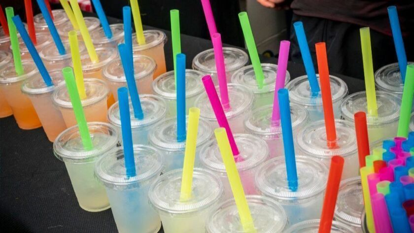 LA plans to make plastic straws available only on request