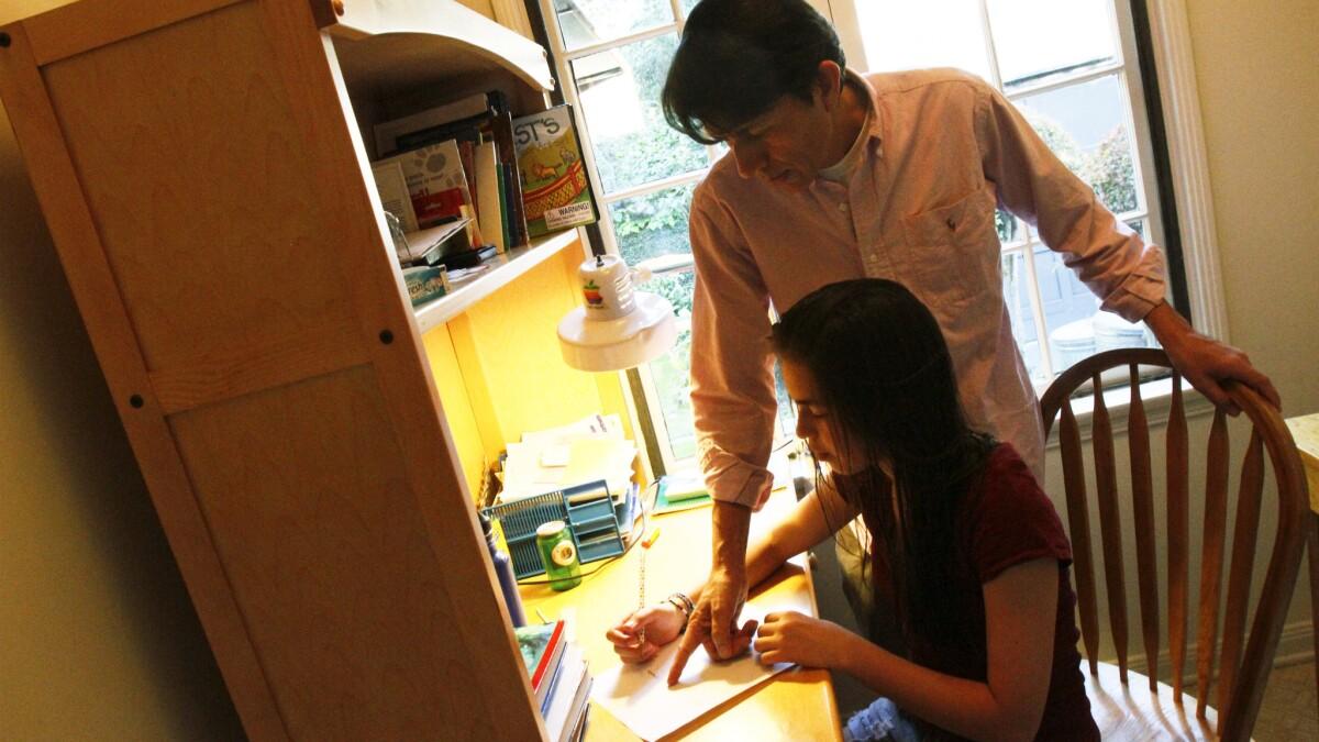 Step Daughter Helps Step Dad