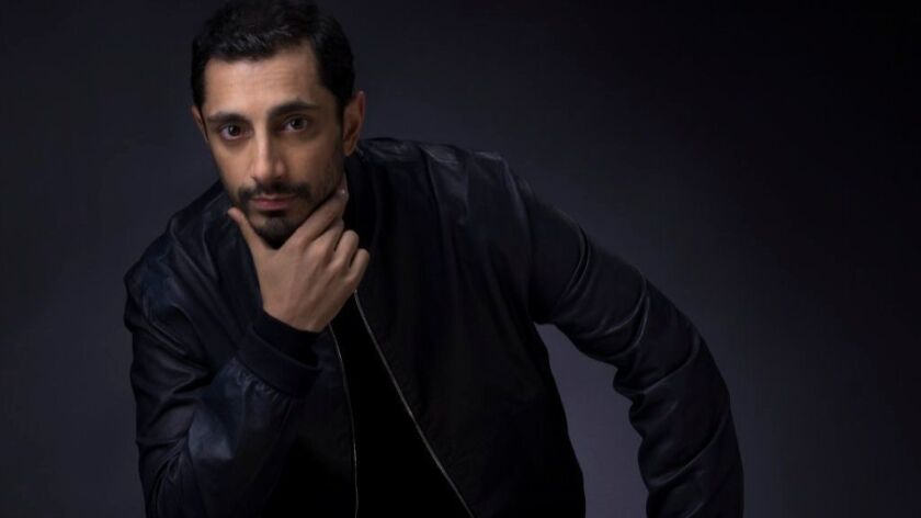 """Riz Ahmed, lead actor nominee for """"The Night Of."""""""