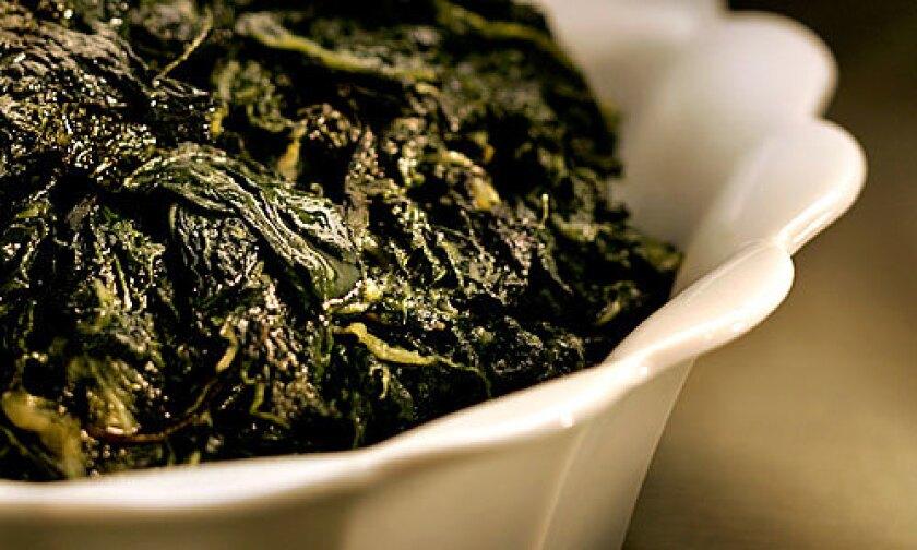 CULINARY S.O.S.: Black Kale, cavolo nero, based on chef Suzanne Goin's recipe at Lucques.